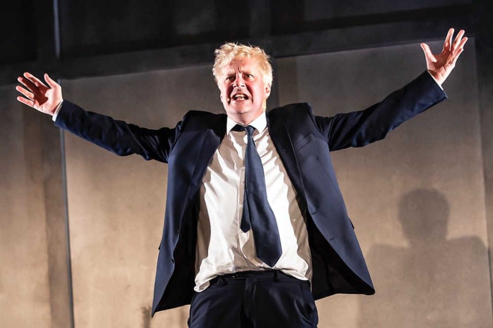 Will Barton as Boris Johnson in THE LAST TEMPTATION OF BORIS JOHNSON. Credit Pamela Raith (3)